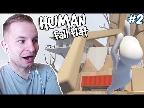МОЛОЧНЫЙ ЧЕЛОВЕЧЕК - ТАРЗАН | Human Fall Flat #2