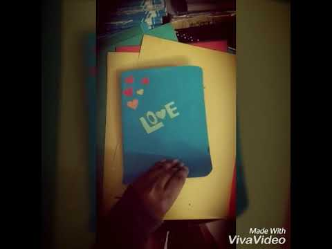Easy designing love card