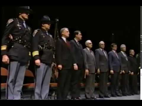 Indiana State Police - 12.1987 - The 45th Recruit Class Graduation
