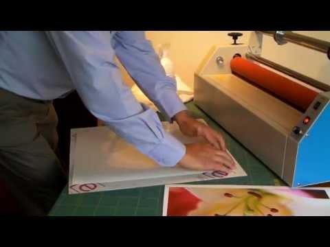 How To Laminate A Photo Onto An Acrylic Sheet