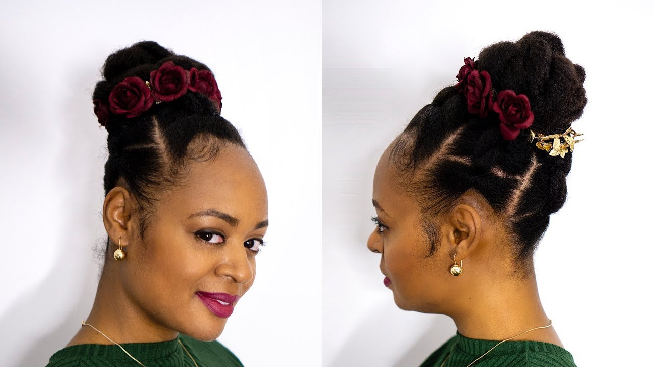 Easy Special Occasion Hairstyle For Type 4 Hair Latoya