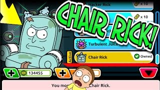 Pocket Mortys - BUYING CHAIR RICK! HOW TO FIND LEVEL 100 MORTYS! 10 NEW LEVEL 100 MORTYS!