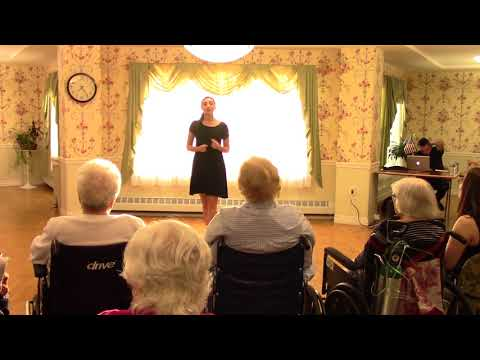 """St Frances Theatre Group at the Belair Care Center """"Fly Me To The Moon"""""""