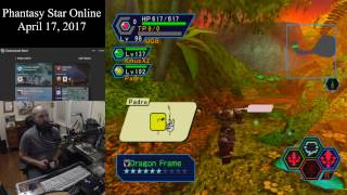 Phantasy Star Online (April 17, 2017) Sega Dreamcast Online Multiplayer [w/Commentary]