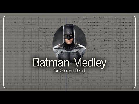 Batman Medley for Concert Band- arr. Jack Bertelli