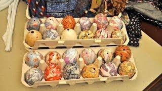 Как оригинально покрасить яйца на Пасху? Африканский способ покраски яиц
