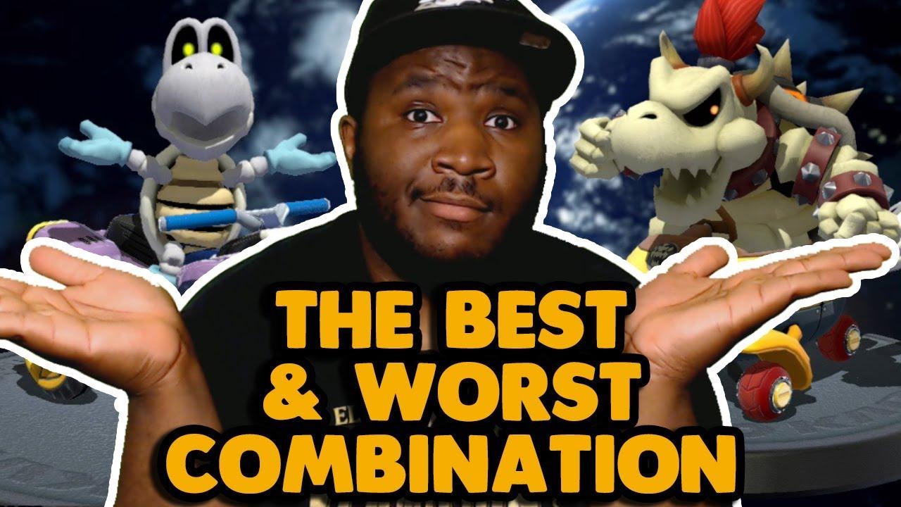 The Best Worst Mario Kart 8 Deluxe Combos Youtube