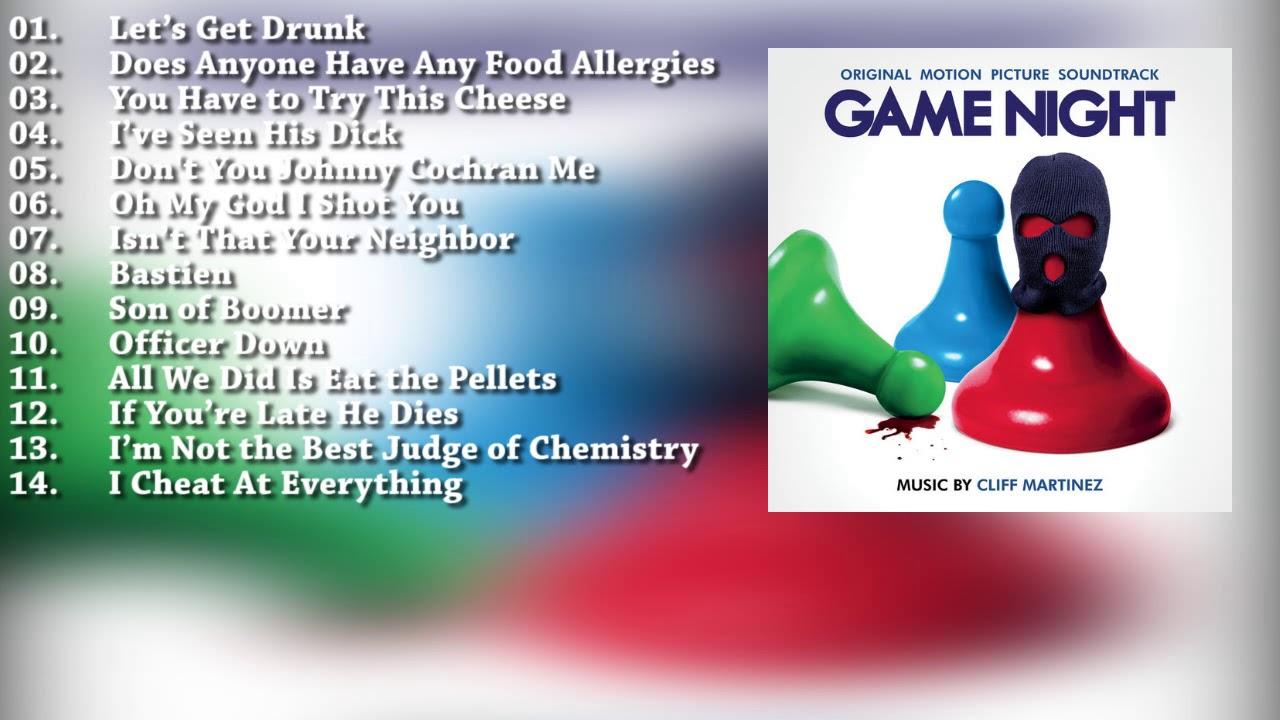 game night ost soundtrack