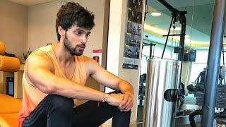Parth Samthaan Gym workout video