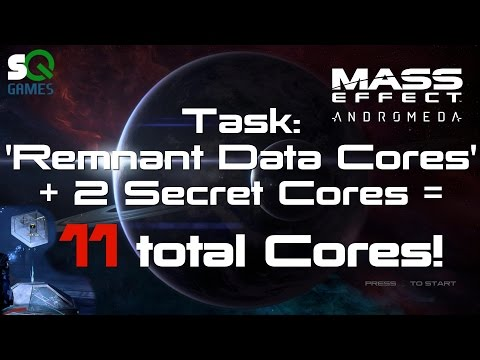 Mass Effect: Andromeda 11 Remnant Data Core locations for Peebee
