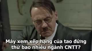 Hitler nói gì khi tạch PTIT || Hitler phát biểu về kỳ thi THPT Quốc Gia 2015