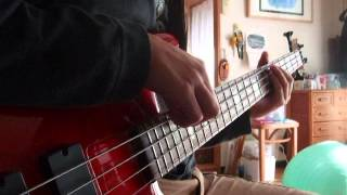 Dissection Where dead angels lie Bass Cover