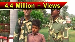 PAKISTANI BOY TANVEER AHMED STRAYS ACROSS BORDER; RETURNED BY BSF