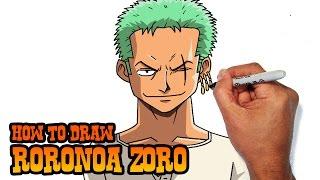 How to Draw Zoro | One Piece