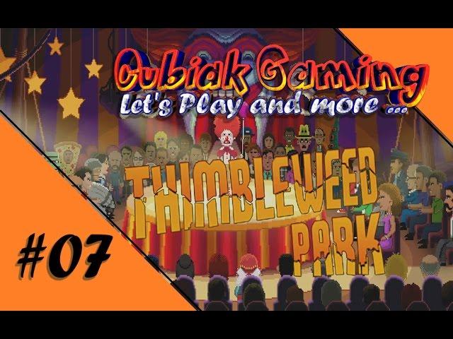 RANSOME, DER VERF✠☠$✯TE *BIIIEP*CLOWN ★ Let's Play Thimbleweed Park #07