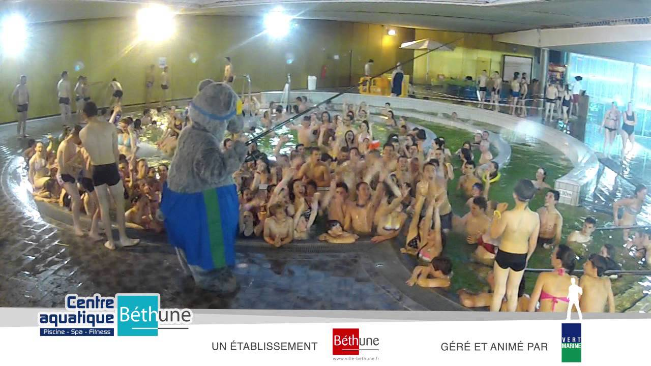 Harlem shake centre aquatique de b thune youtube for Piscine de bethune