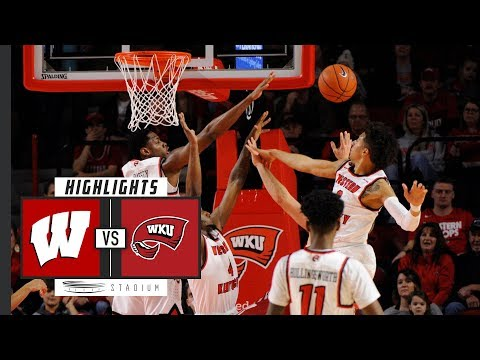 No. 15 Wisconsin vs. Western Kentucky Basketball Highlights (2018-19) | Stadium