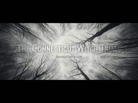 AF-254   The Connecticut Witch Trials: Witch Hysteria in America Long Before Salem