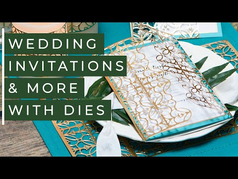 DIY Wedding Invitations & More with Die Cutting