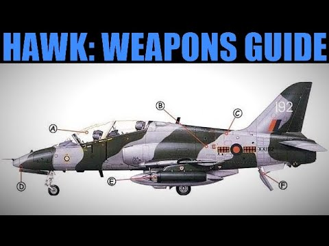 T-1 Hawk: Guns, Rockets, Bombs & Missile Weapons Guide   DCS WORLD