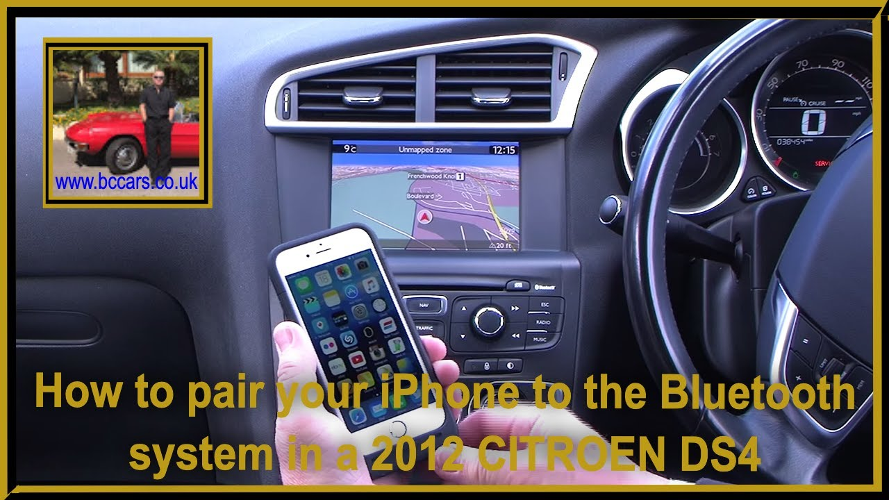 How to pair your iphone to the bluetooth system in a 2012 12 how to pair your iphone to the bluetooth system in a 2012 12 citroen ds4 2 0 hdi d sport vanachro Image collections
