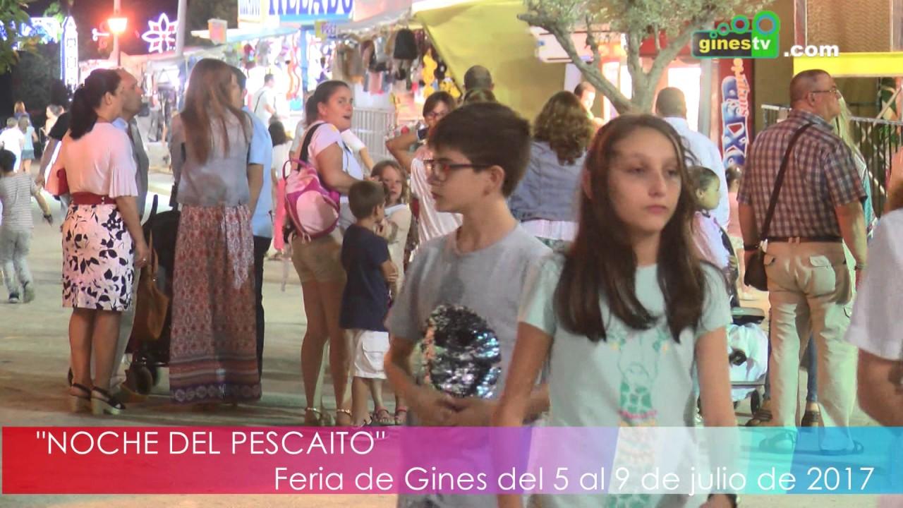 """""""Noche del Pecaíto"""" en la Feria de Gines 2017"""