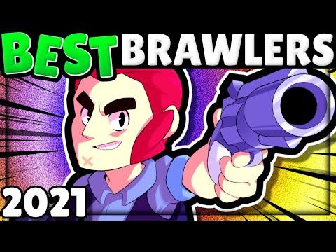 2021 BEST Brawlers in EVERY Mode! | PRO Tier List V22