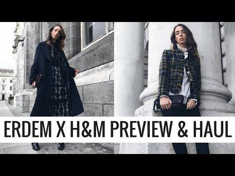 ERDEM X H&M Preview & Haul! 🍂 👗  | CIARA O DOHERTY | AD