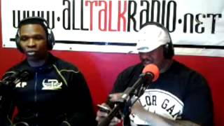 (2 Of 4) SHAWN/KENNY PORTER TALK BOXING, MAYWEATHER VS PACQUIAO, SPAR