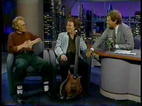 Jack Bruce & Ginger Baker @ The David Letterman Show 1991