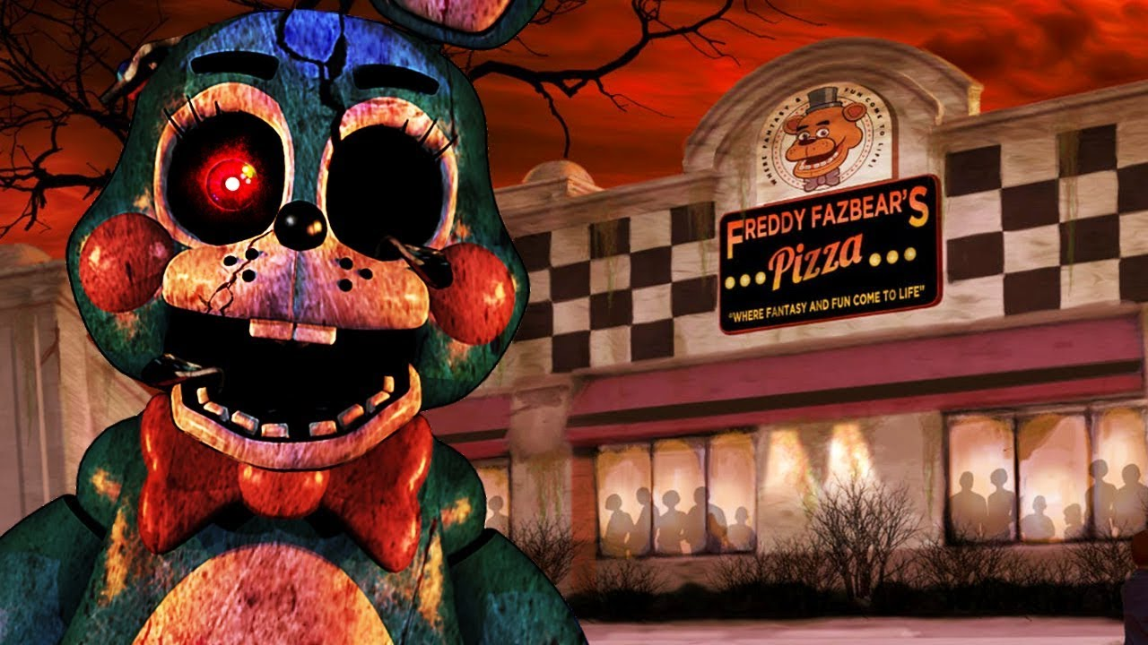exploring-the-new-fnaf-animatronic-theme-park-five-nights-at-freddys-minecraft