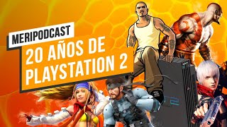 20 años de Playstation 2: Meripodcast Retro 13x28
