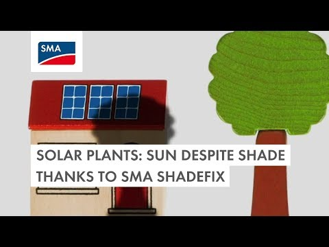 Solar Plants: Sun Despite Shade Thanks to SMA ShadeFix