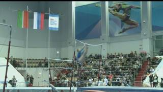 видео: Дарья Спиридонова Брусья Финал - Чемпионат России 2017