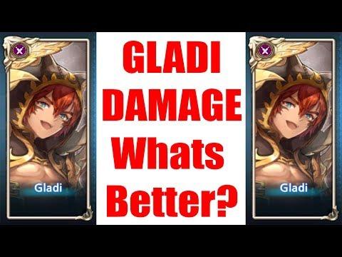 Gladi Damage Better Black Dragon or Red Dragon Set? - Kings Raid