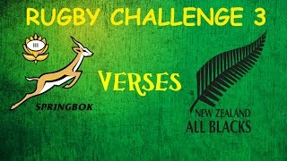 Rugby Challenge 3 Springboks vs All Blacks