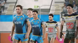 RUGBY LEAGUE LIVE 4 - COWBOYS CAREER (round 4)