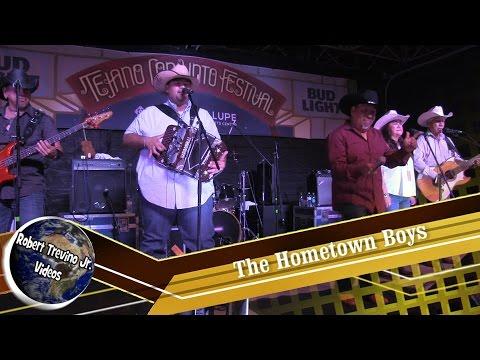 The Hometown Boys at the Tejano Conjunto Festival 2016