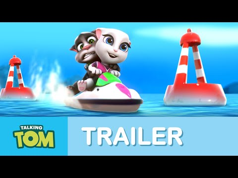 Talking Tom Jetski - Trailer