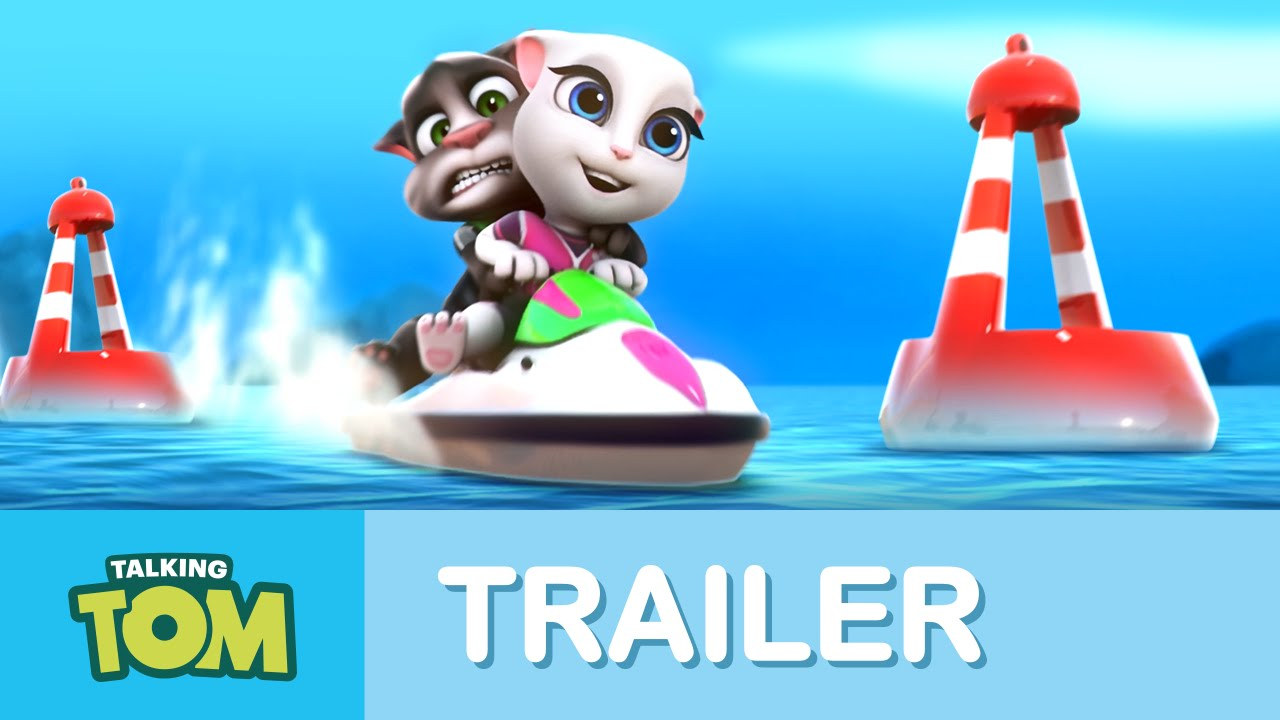 Tom Trailer Talking Tom Jetski Trailer