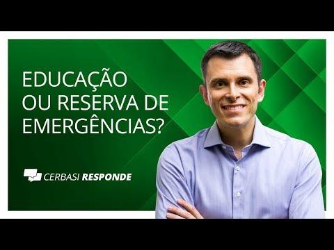 Investir em educação ou criar reserva de emergências?  CerbasiResponde