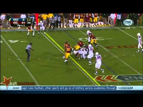 #25 Ka'Deem Carey, RB, Arizona vs USC '13
