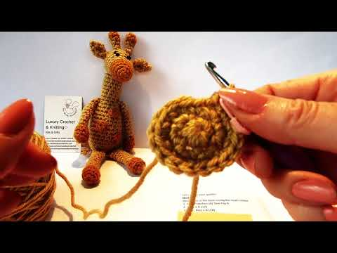 Aimee the Giraffe - Tutorial 2 - Wee Woolly Wonderfuls
