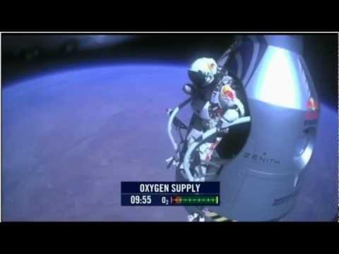 Felix Lompat Pada Ketinggian 128k Atau 39km! Red Bull Stratos Terjun Bebas Dari Tepi Ruang