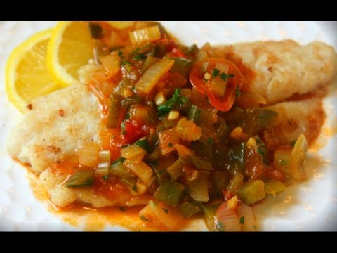 French Caribbean Creole Sauce For Fish And Grilled Meats.