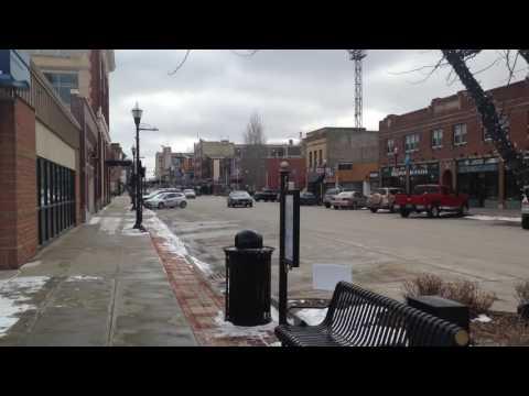 This is Fargo Downtown, North Dakota, USA