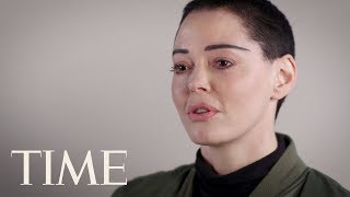Rose McGowan: 'We're Running Out Of Time. I Don't Have Time To Play Nice' | POY 2017 | TIME