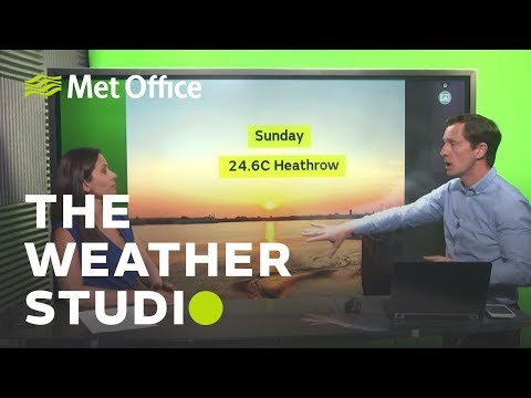 Will the warm weather last? - The Weather Studio 23/04/19