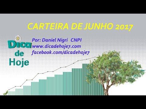DICA DE HOJE - carteira de junho 2017