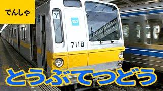 私鉄電車(10)東武鉄道:特急スペーシア/100系/200系/6050系/7000系/8000系/10000系/50090系 他